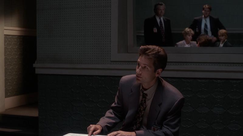 8 - Mulder 1  Skeptics 4
